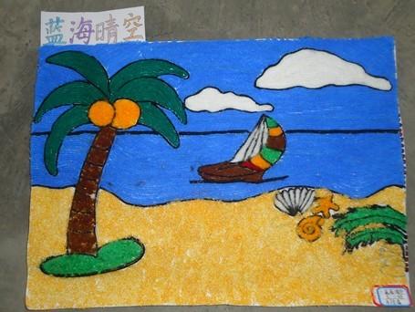 县二小四年级画画一等奖图片