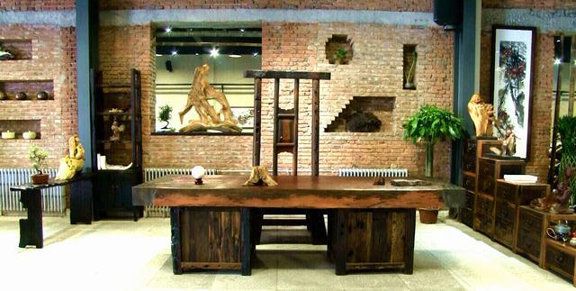 朴石茗古船木艺术馆在京开业